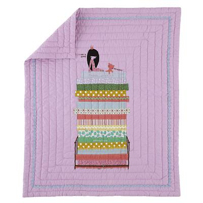 Princess and the Pea Baby Quilt