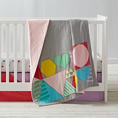 Rainbow Charm Crib Bedding