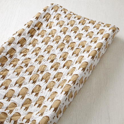 Savanna (Monkey) Changing Pad Cover - Savanna Monkey Changing Pad Cover