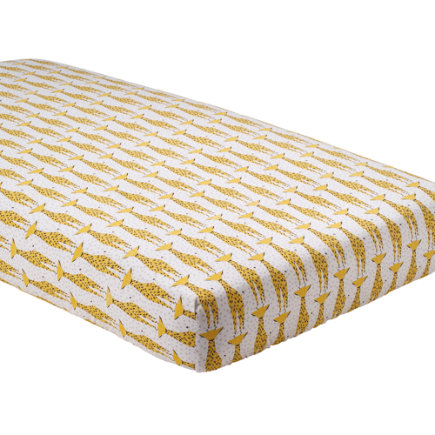 Savanna Giraffe Crib Sheet - Savanna Giraffe Crib Sheet