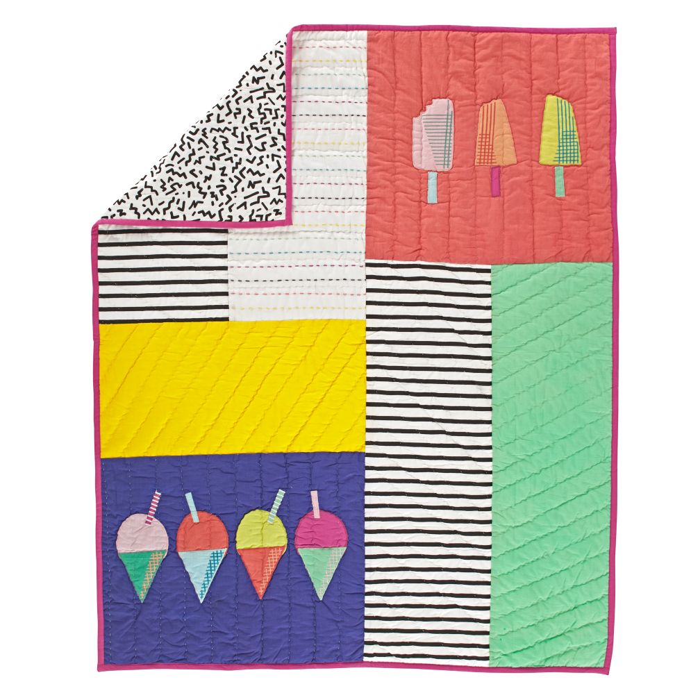Snow Cone Baby Quilt