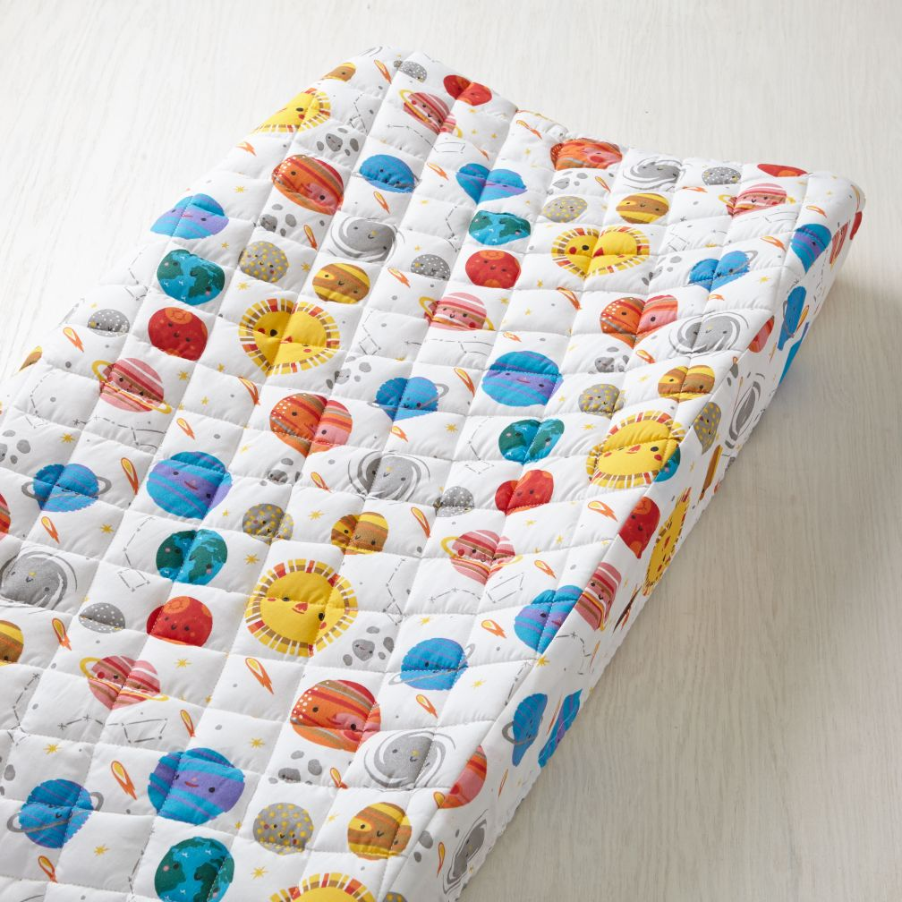 Organic Deep Space Changing Pad Cover