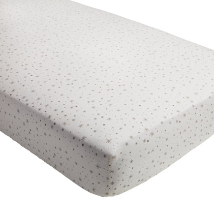 Star System Crib Fitted Sheet - Star System Crib Fitted Sheet