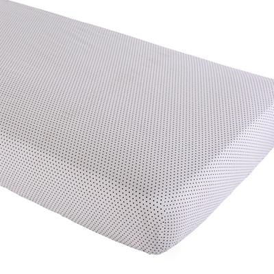 Swiss Dot Crib Fitted Sheet