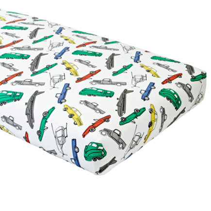 Traffic Jam Crib Fitted Sheet
