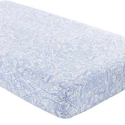 Transit Authority Crib Fitted Sheet