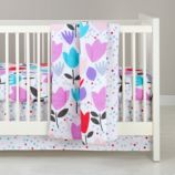 Tulip Festival Crib Bedding