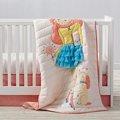 Wardrobe Change Crib Bedding and Quilt