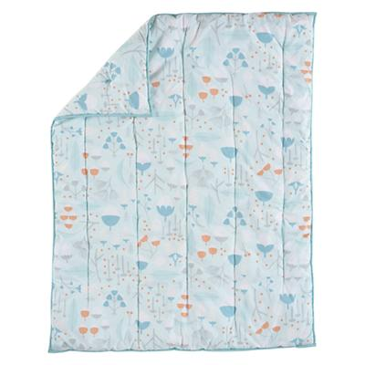 Well Nested Crib Quilt (Blue)