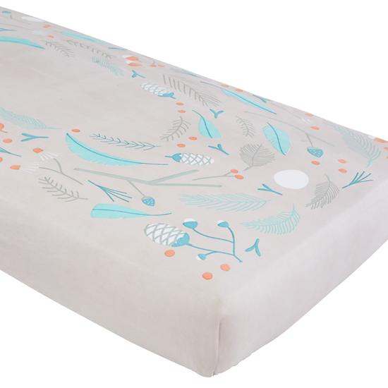 Well Nested Crib Fitted Sheet Nest The Land Of Nod