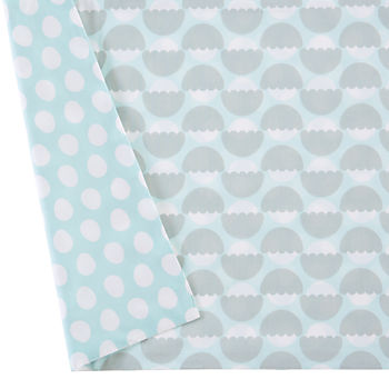 Well Nested Crib Skirt (Blue)