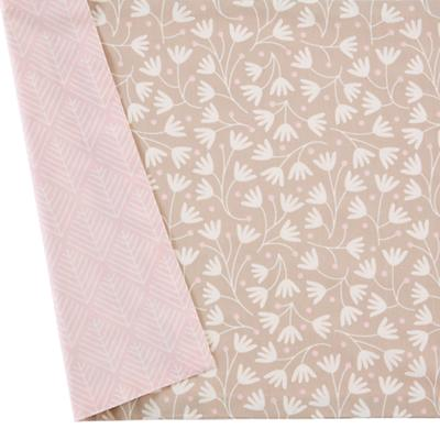 Well Nested Crib Skirt (Pink)