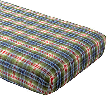 Winter Lodge Flannel Crib Fitted Sheet