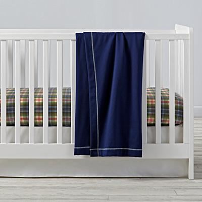 Winter Lodge Flannel Crib Bedding