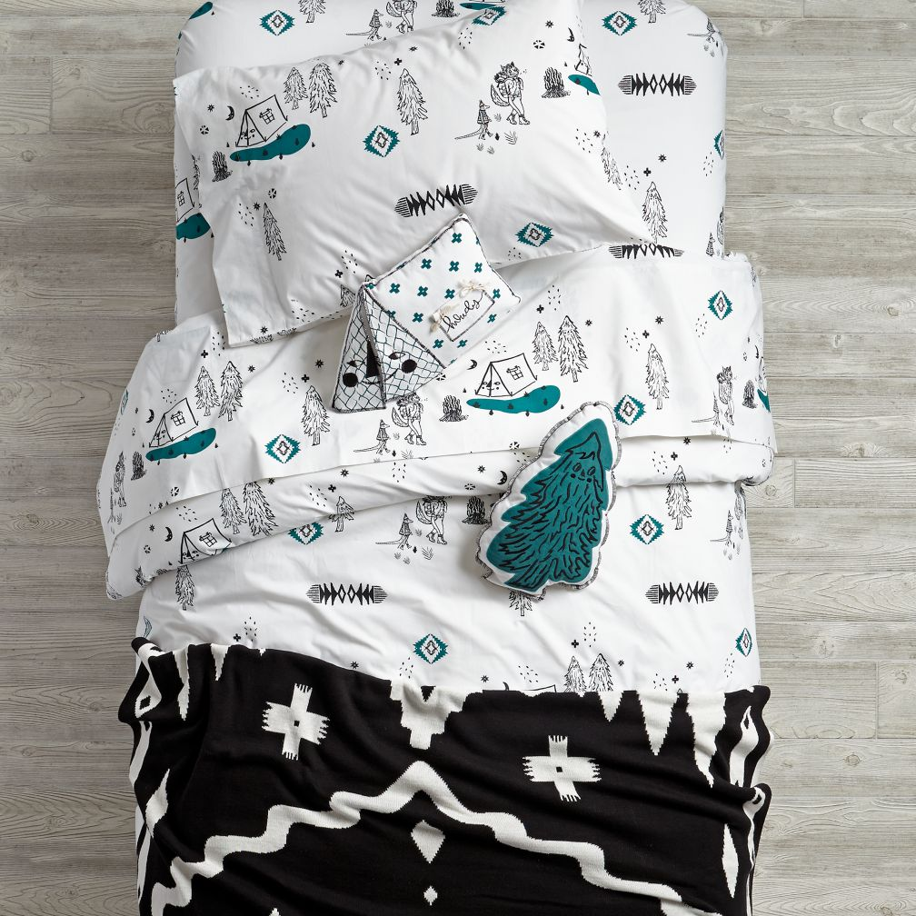 Campground Duvet Cover