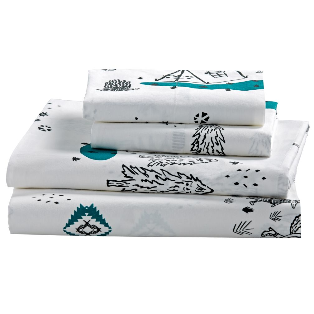 Queen Campground Sheet Set