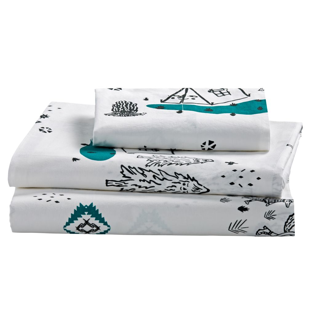 Twin Campground Sheet Set