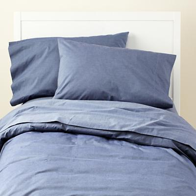 Blue Chambray Bedding