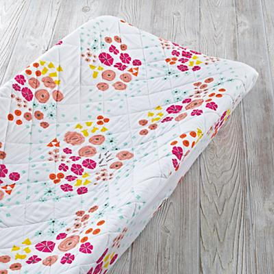 Flower Show Changing Organic Pad Cover