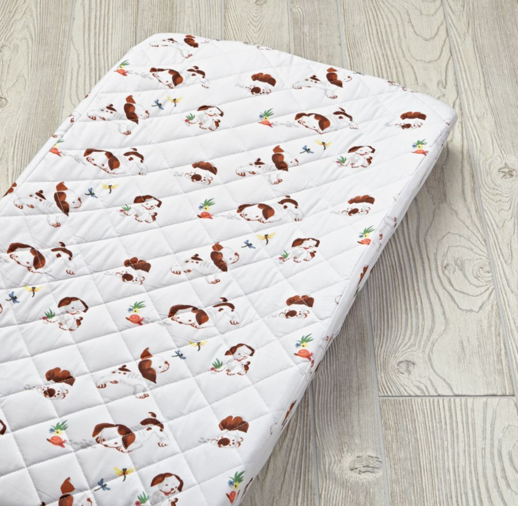 Organic Poky Little Puppy Changing Pad Cover