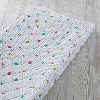 Rainbow Charm Changing Pad Cover