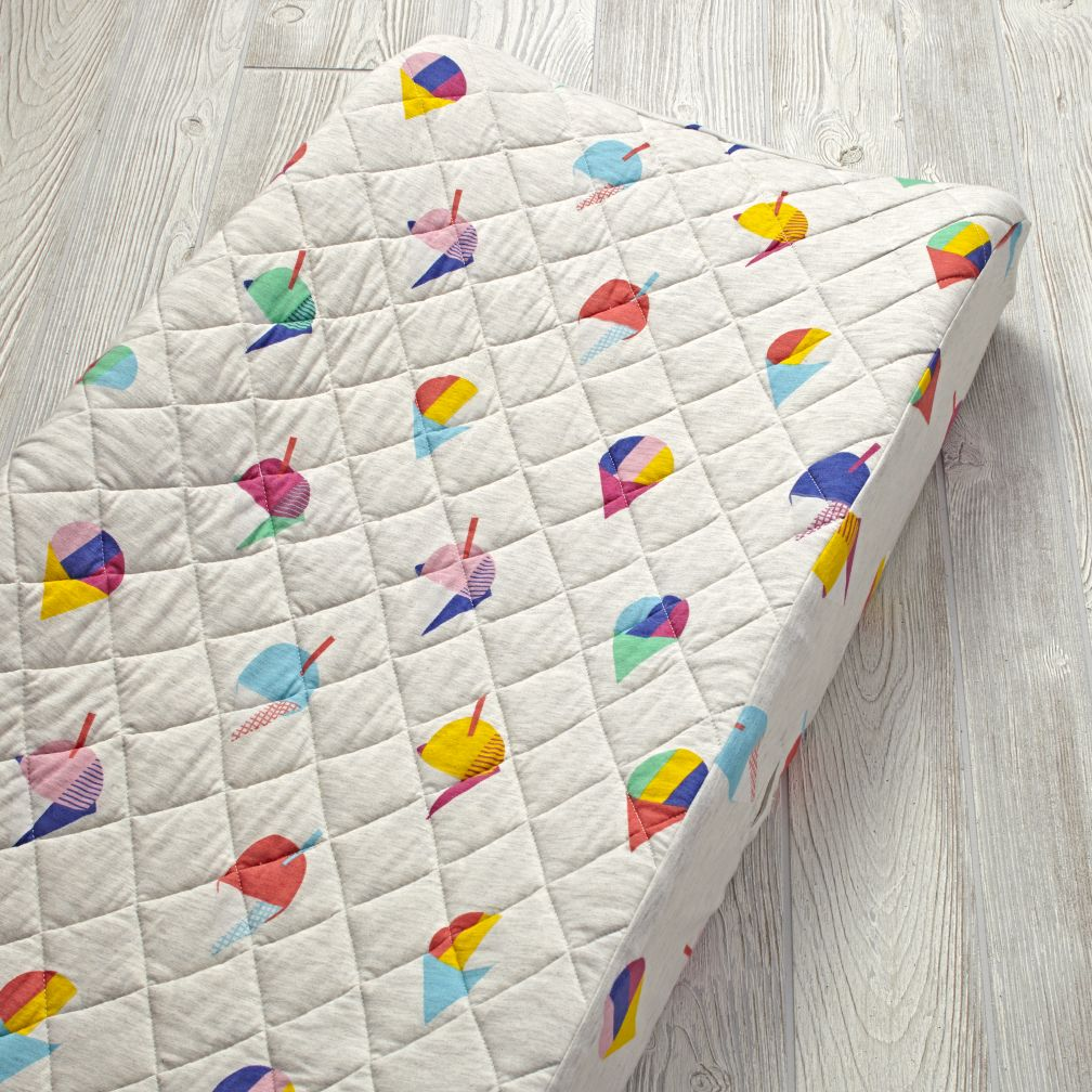 Snow Cone Changing Pad Cover
