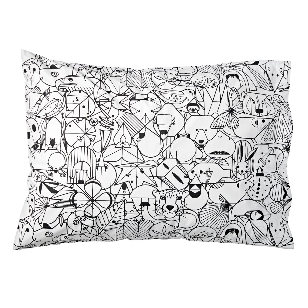 Charley Harper Animal Pillowcase