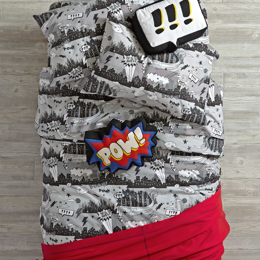 Comic Book Bedding and Duvet Cover