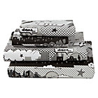 Full Comic Book Sheet SetIncludes fitted sheet, flat sheet and two pillowcases
