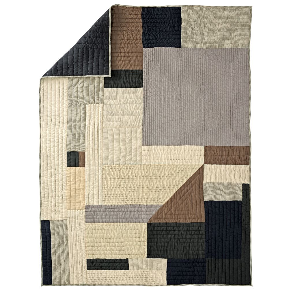 Full-Queen Cozy Contemporary Quilt