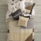Cozy Contemporary Bedding and Quilt