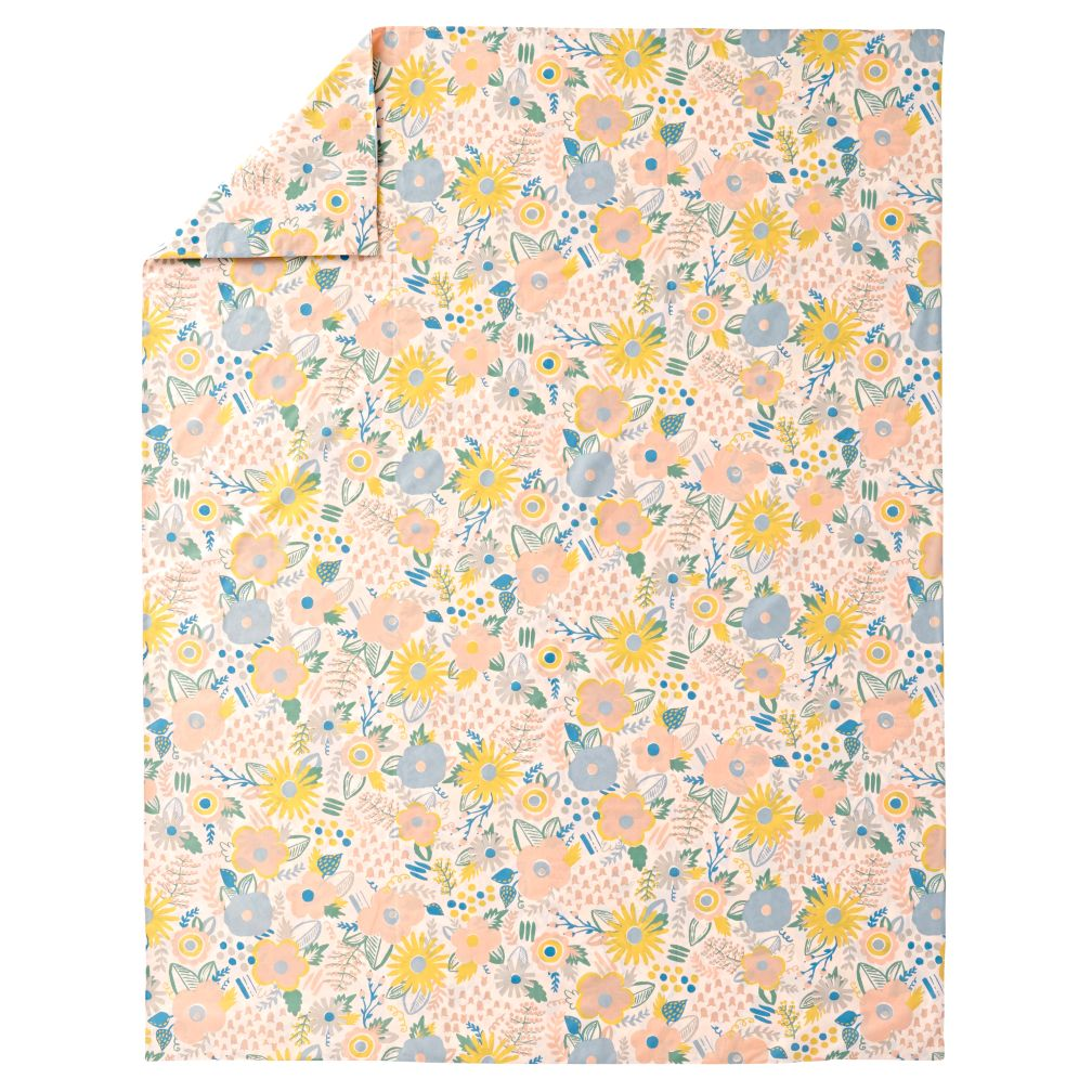 Twin Floral Rush Bedding Duvet Cover