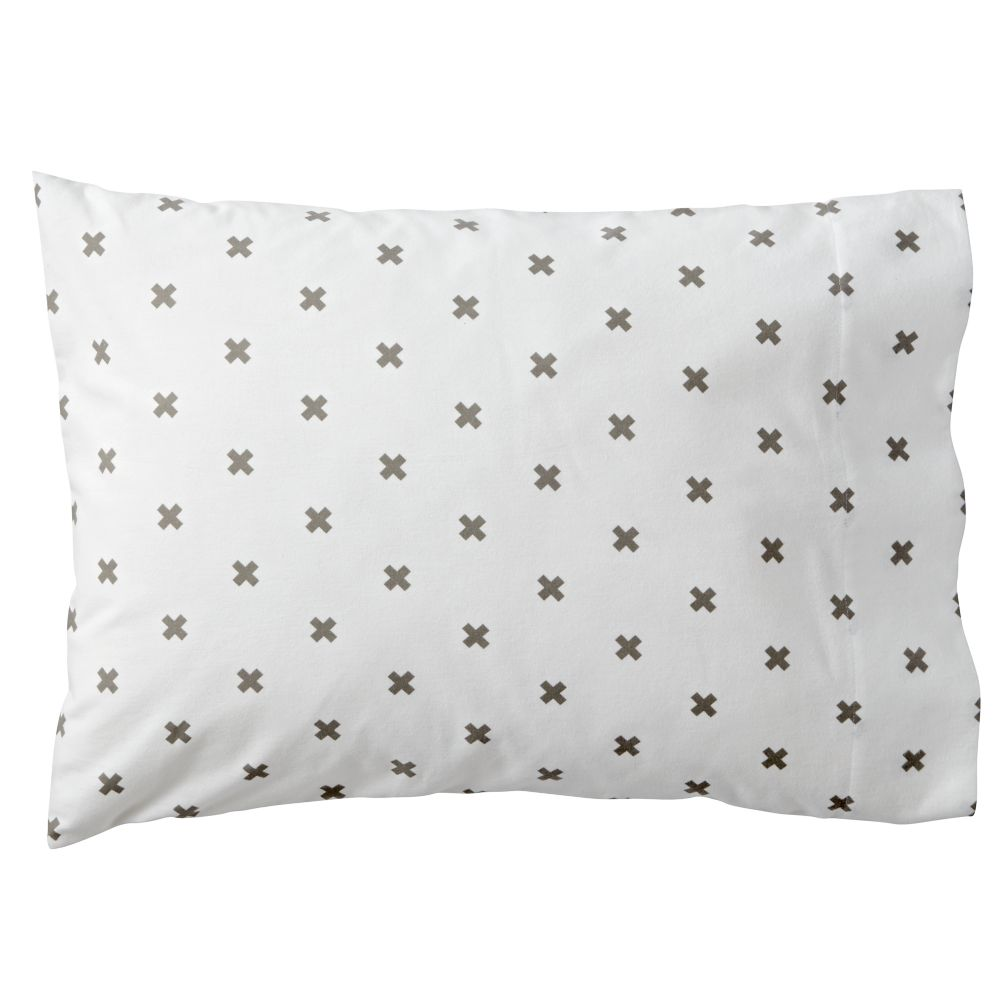Crisscross Pillowcase