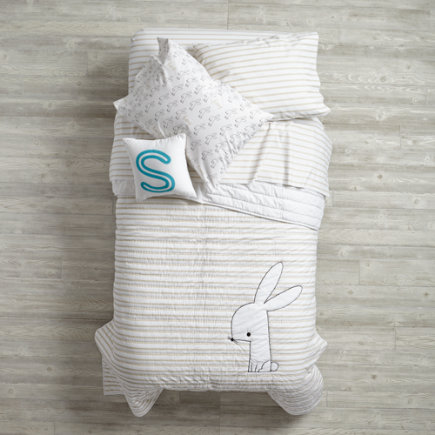 Early Edition Kids Bedding (Bunny) - Twin Bunny Early Edition Quilt