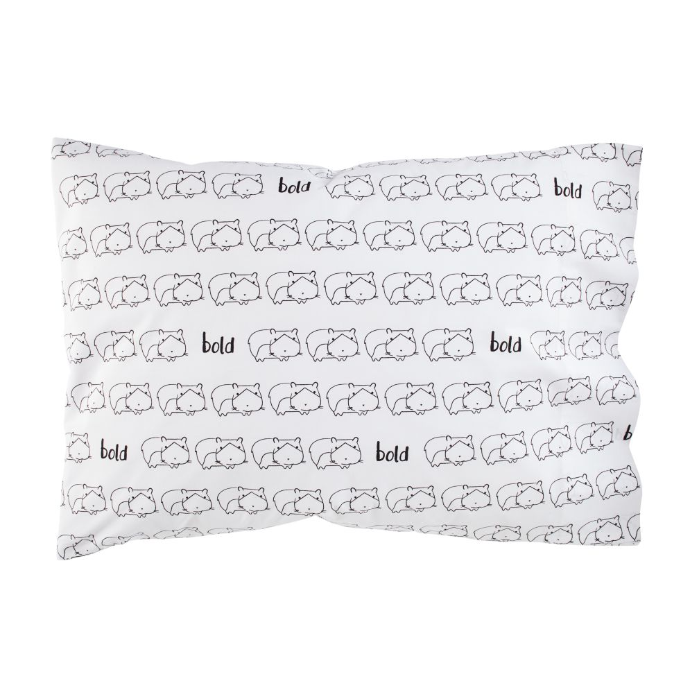 Early Edition Pillowcase (Hamster)