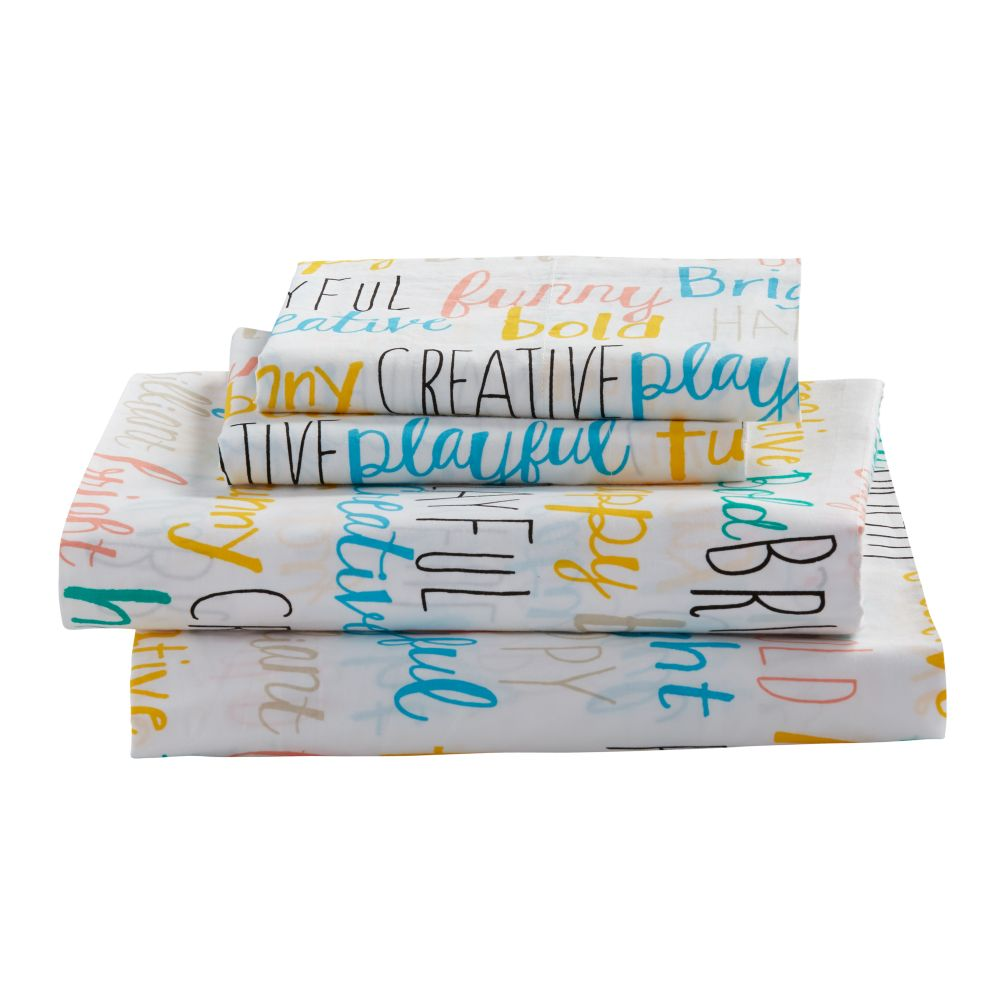 Queen Early Edition Sheet Set (Word)