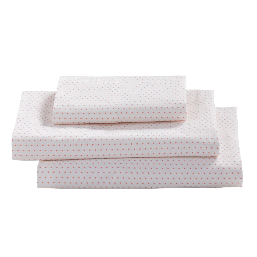Twin Early Edition Sheet Set (Pink Dot)