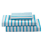Twin Blue Stripe Early Edition Sheet Set.