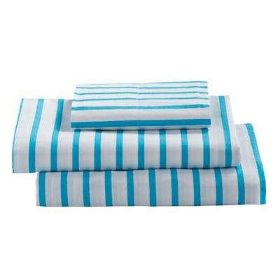 Twin Early Edition Sheet Set (Blue Stripe)