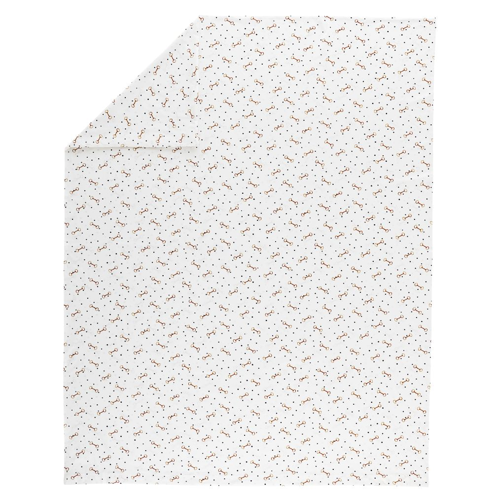 Full-Queen Equestrian Duvet Cover