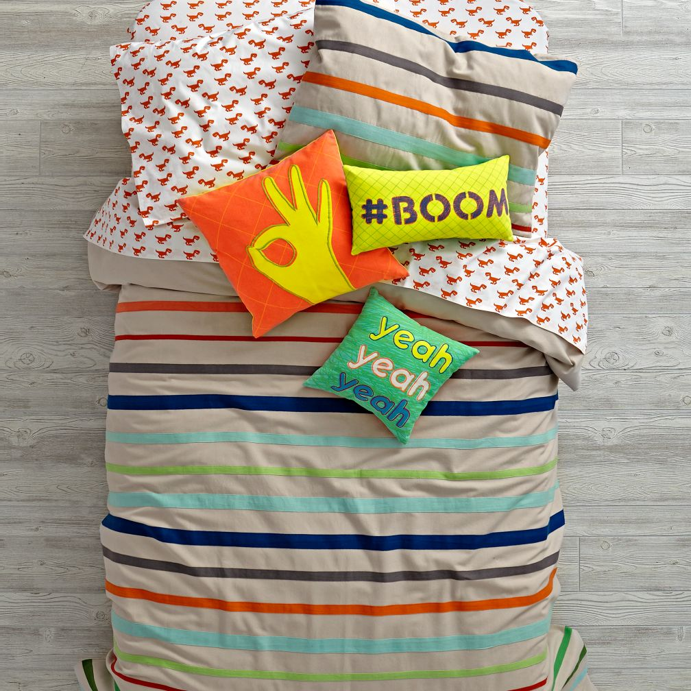 Essential Stripe Bedding and Duvet Cover