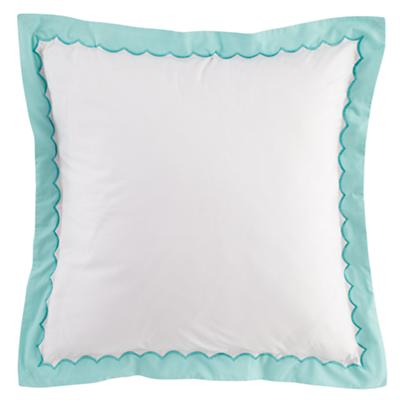 Teal Extended Stay Euro Sham