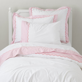 Thrilled to be Frilled Pink Sheet Set (Twin) in Sheet Sets | The ...