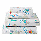 Bunny Hill Flannel Queen Sheet Set