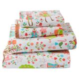 Candy Forest Flannel Sheet Set