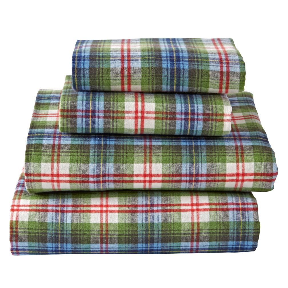 Winter Lodge Flannel Full Sheet Set