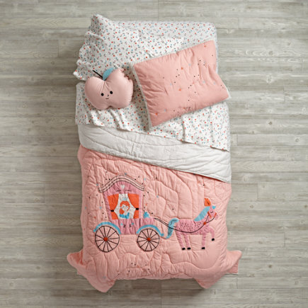 Far, Far Away Princess Kids Bedding - Twin Far, Far Away Quilt