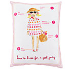 Pink Fashionista Pool Pillow