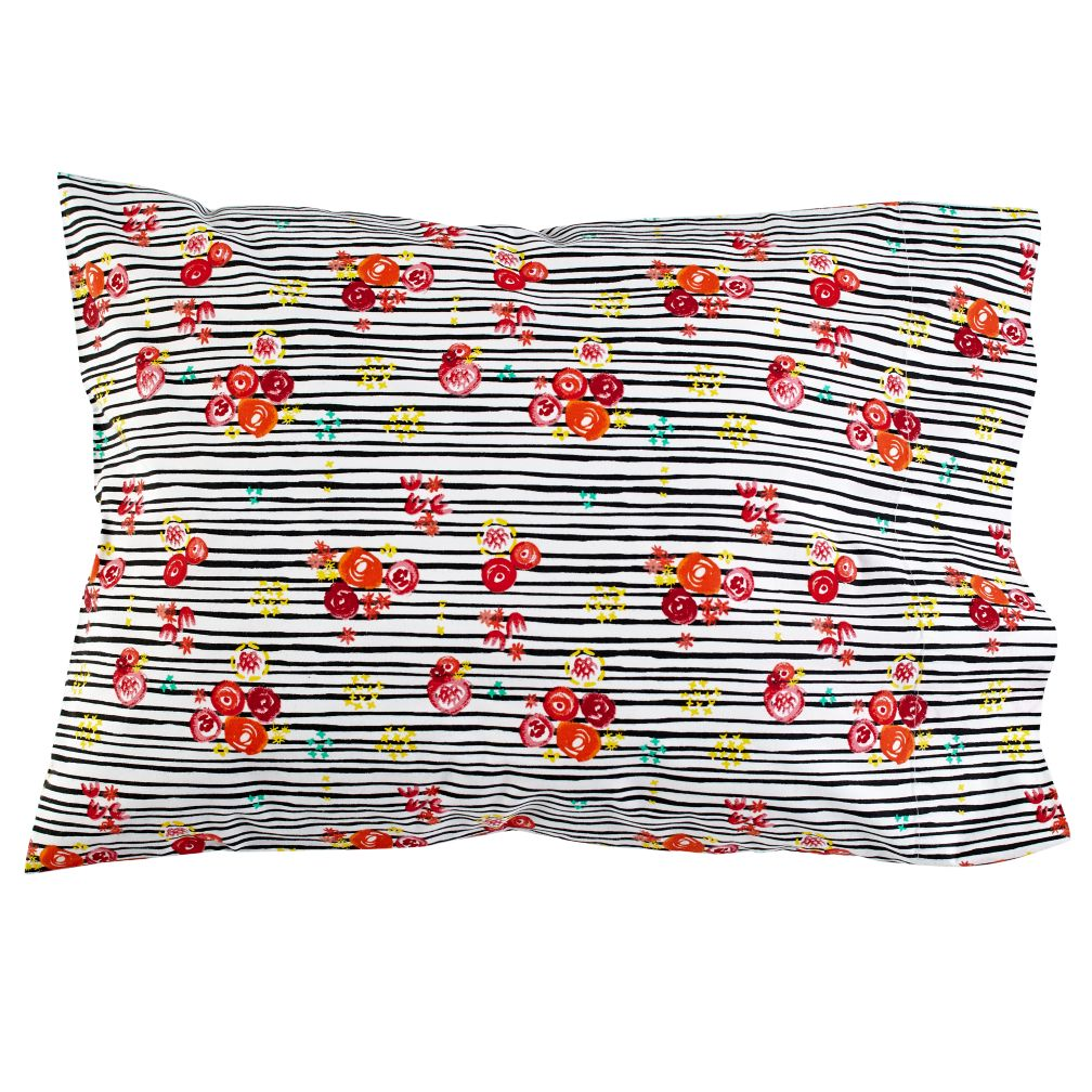Floral Pop Pillowcase