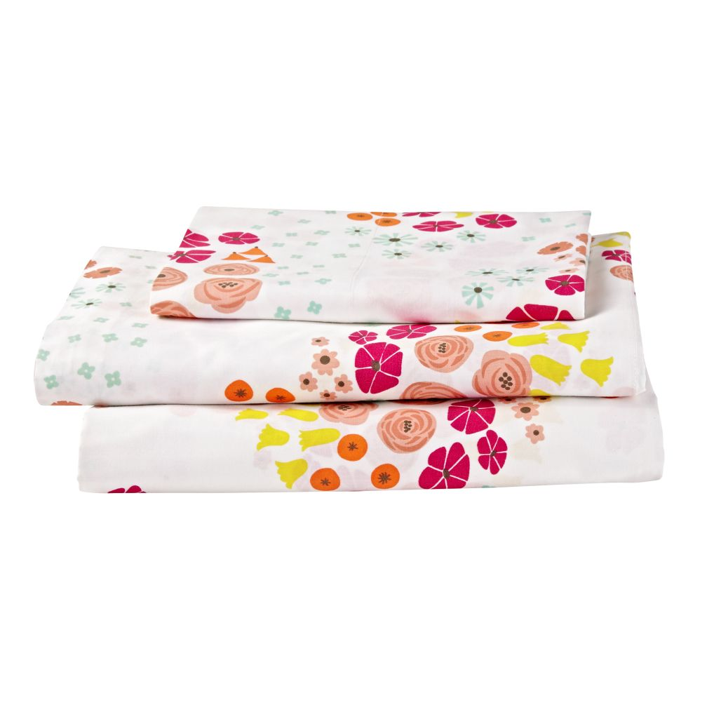 Flower Show Sheet Set (Twin)